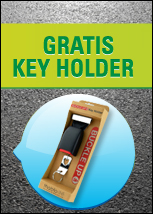 Gratis key holder
