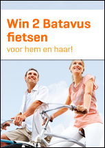 Win 2 Batavus fietsen